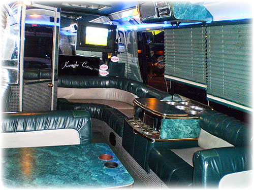 Limos Andrews Limousine Concerts Airport Shuttle - Do charter buses have bathrooms